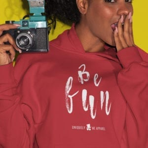 Be Fun Pull Over Hoodie