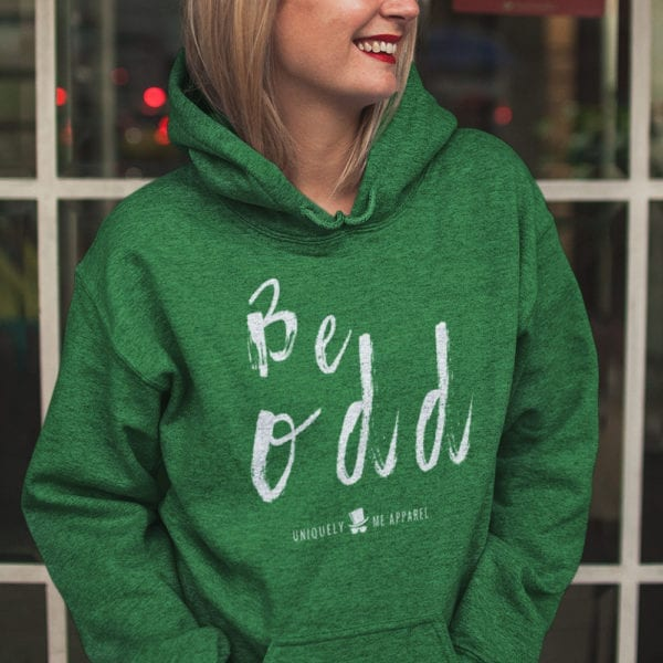 Be Odd Pull Over Hoodie