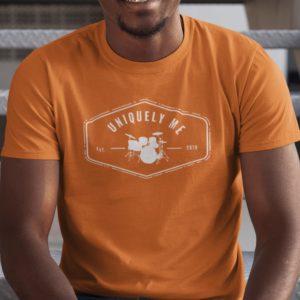 Uniquely Me Drums T-Shirt