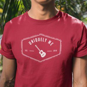 Uniquely Me Guitar T-Shirt