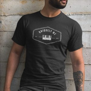 Uniquely Me Piano T-Shirt