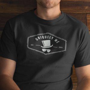 Uniquely Me Top Hat T-Shirt
