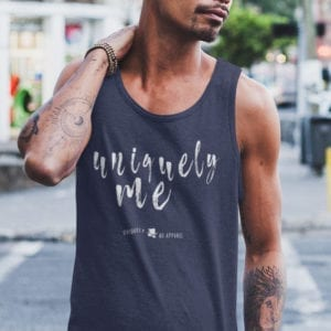Be Uniquely Me Unisex Tank Top